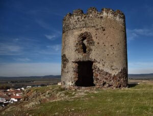 Castillo Almodóvar del Campo - Restos muralla