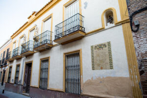 Casa señorial calle Alfredo Palmero