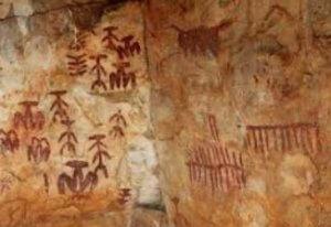 Pinturas rupestres Peña Escrita